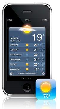 iPhone - pogoda dla bogaczy