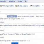Szybkie linki na Facebooku