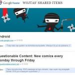 Szybciej w Google Reader