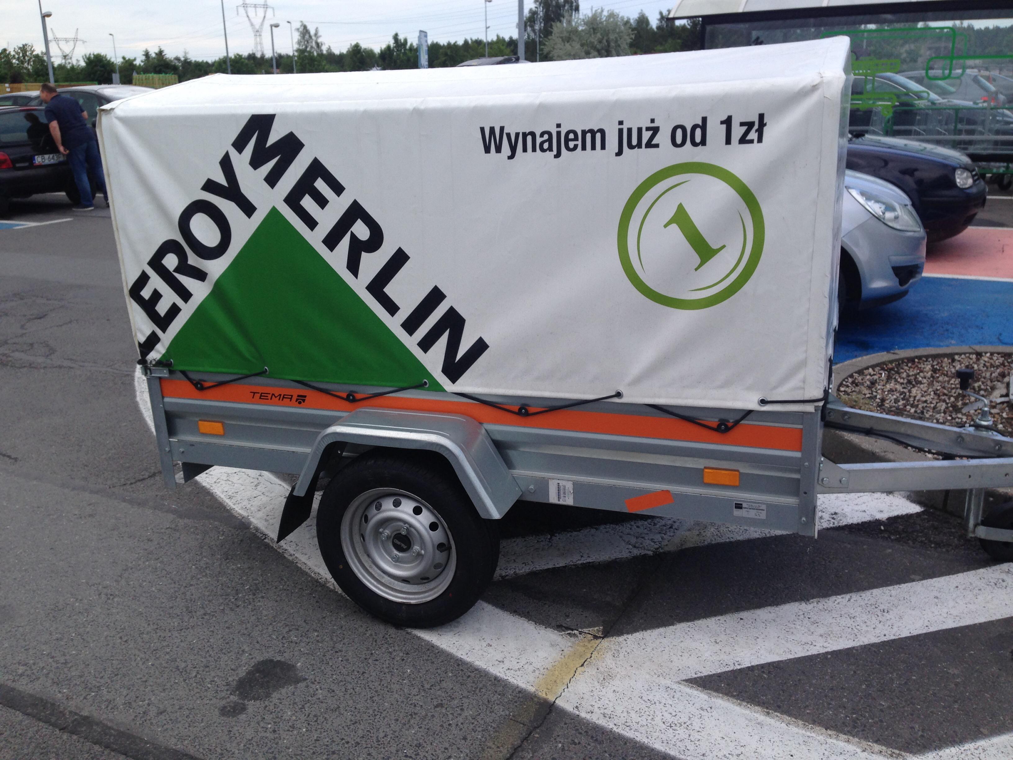 Przyczepka Do Zakupow W Leroy Merlin W Bydgoszczy Ale Serio