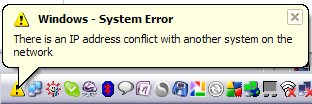 IP Error w Windows XP na PlayOnline